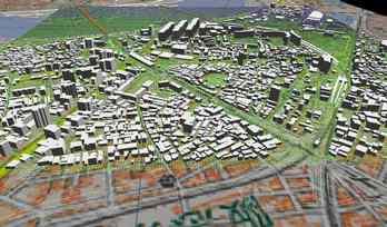 市街地での正確なモデル作成の図5