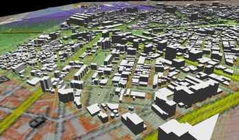 市街地での正確なモデル作成の図6