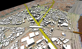 市街地での正確なモデル作成の図7