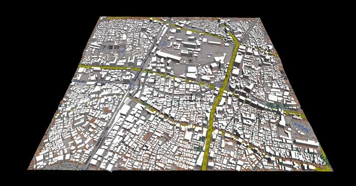 東京都内の建物データ