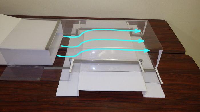 風洞実験装置の測定洞