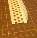 メッシュ板風切り音の消音対策に用いたメッシュ板